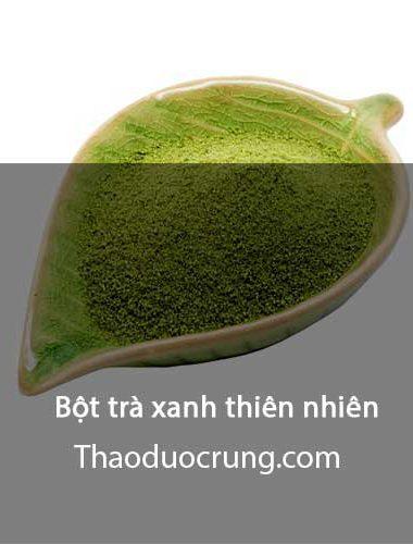 Bột trà xanh thiên nhiên
